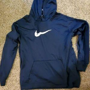 Nike thernafit large swoosh hoodie